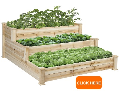 Raised Vegetable Garden Bed 3 Tier Elevated Planter Kit